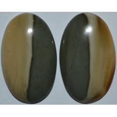 Мадагаскарская яшма (пара)